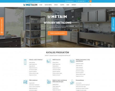 Creation of «METAIM» site - production of metal products, Poland