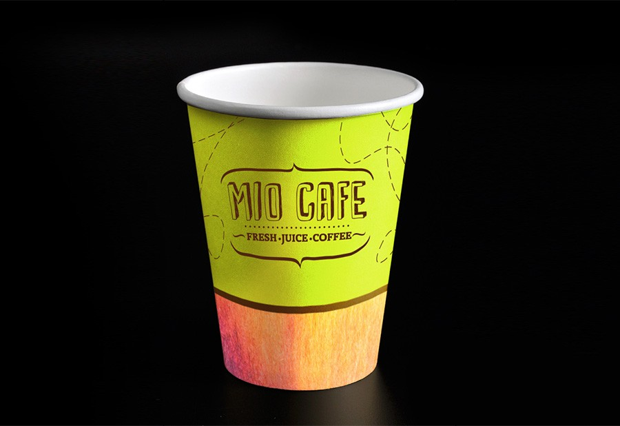 Corporate identity of the «Miokafe» 3
