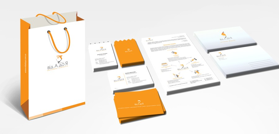 Corporate identity of advertising company 2